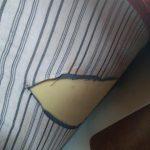 Die Matratzen von unten